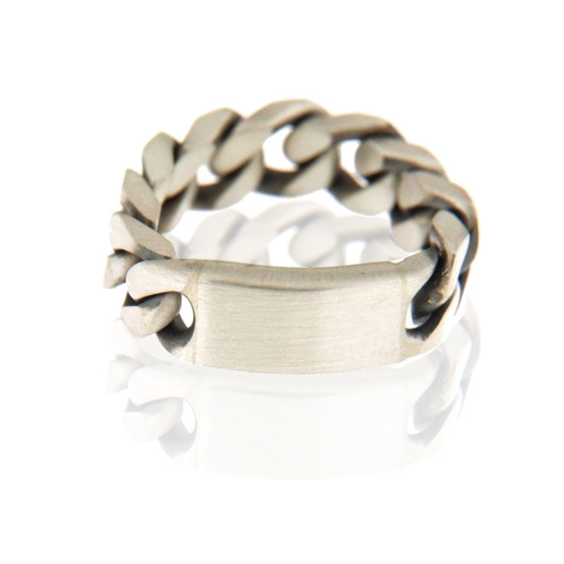 Ring #gunmetal cool 925/- sterlingsilber silber gunmetal used look herrenschmuck